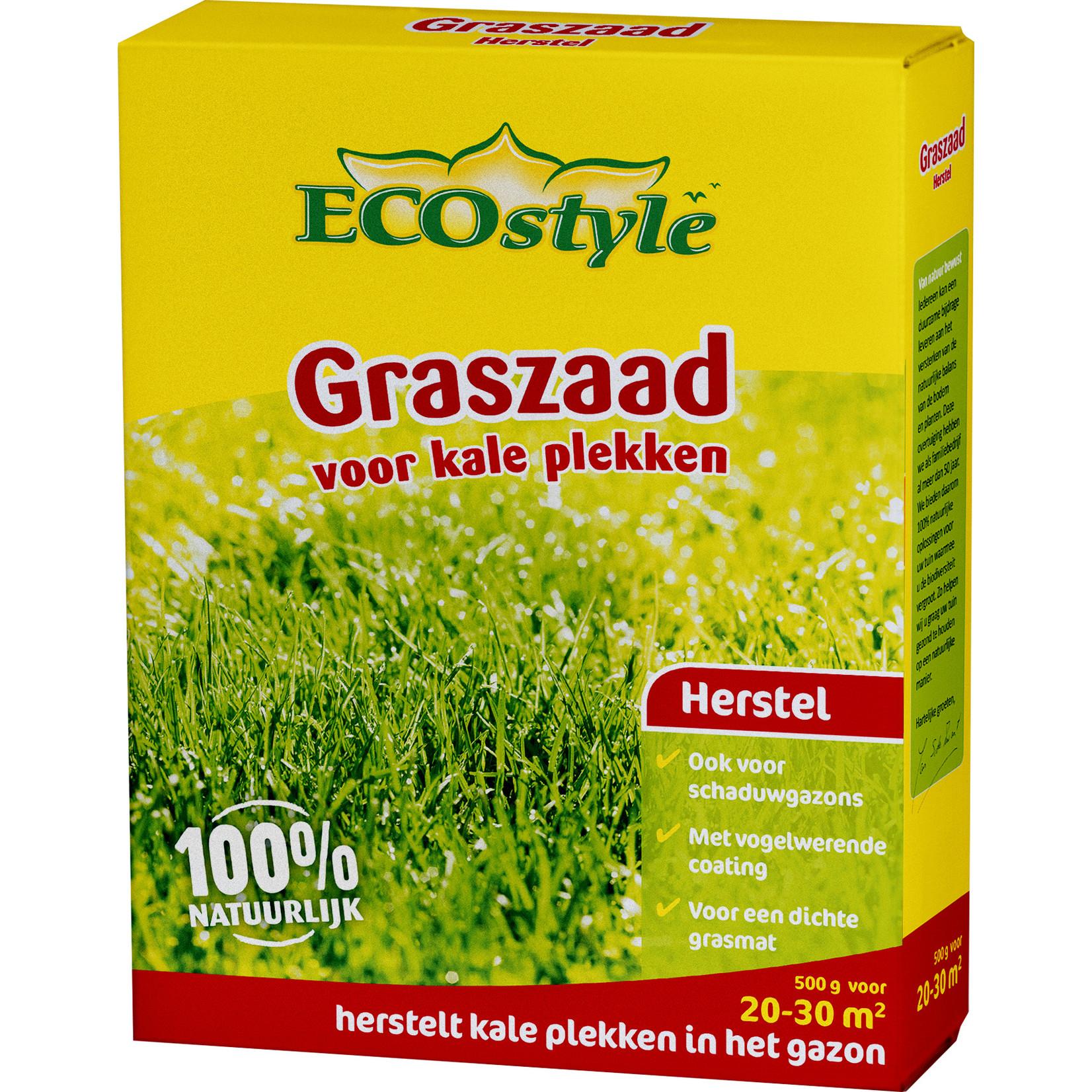 Ecostyle Graszaad-Herstel 500 gram (20-30 m²) voor kale plekken