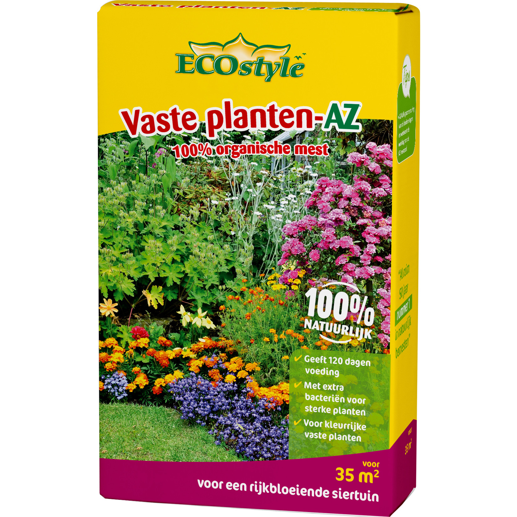 Ecostyle Vaste planten-AZ 2,75 kg meststof (35 m²)