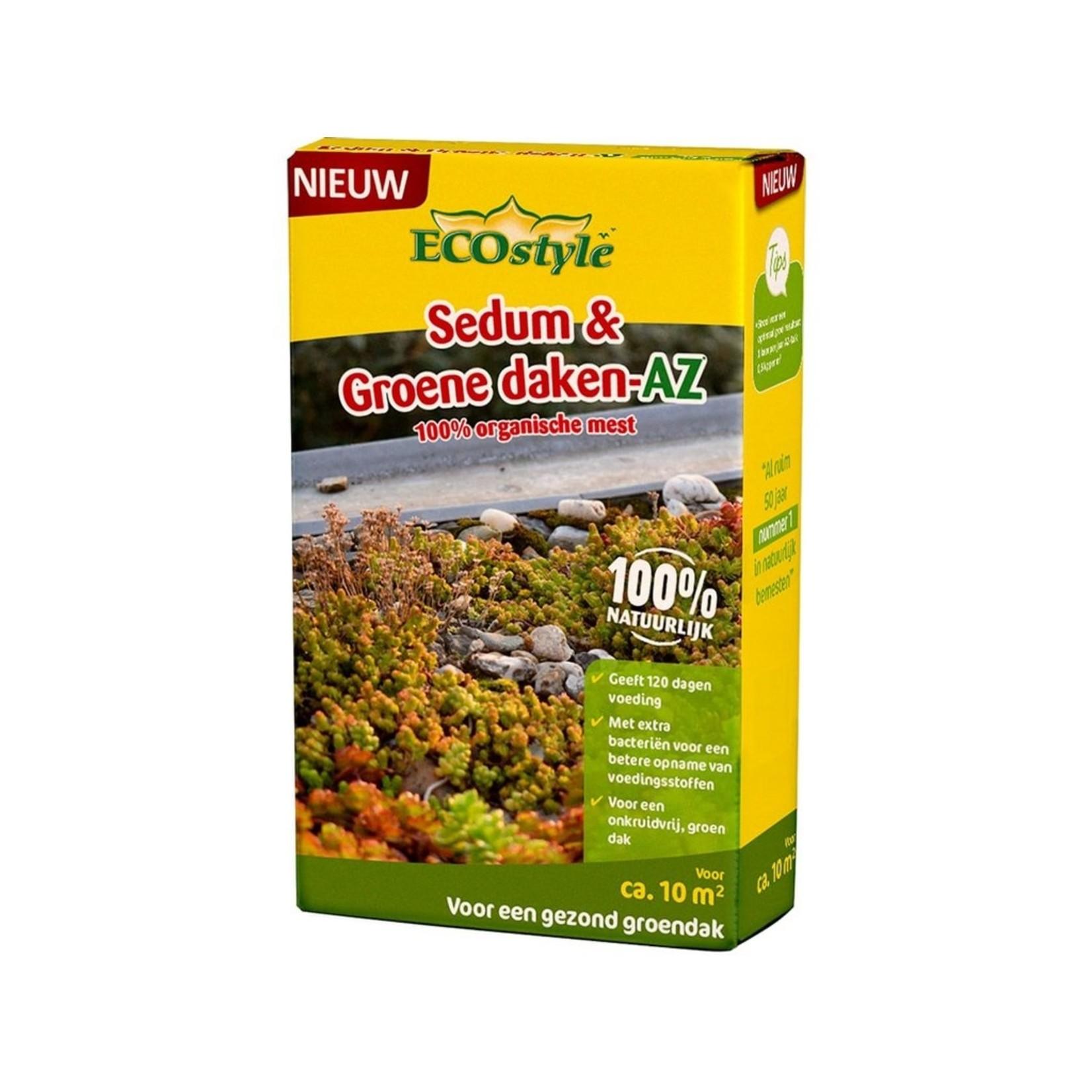Ecostyle Sedum & Groene daken-AZ meststof 800 gram (10 m²)