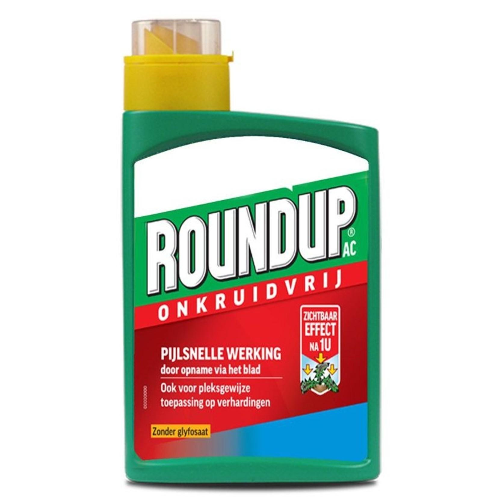 Round-up PA zonder glyfosaat 900 ml (concentraat) voldoende voor ca. 500 m²