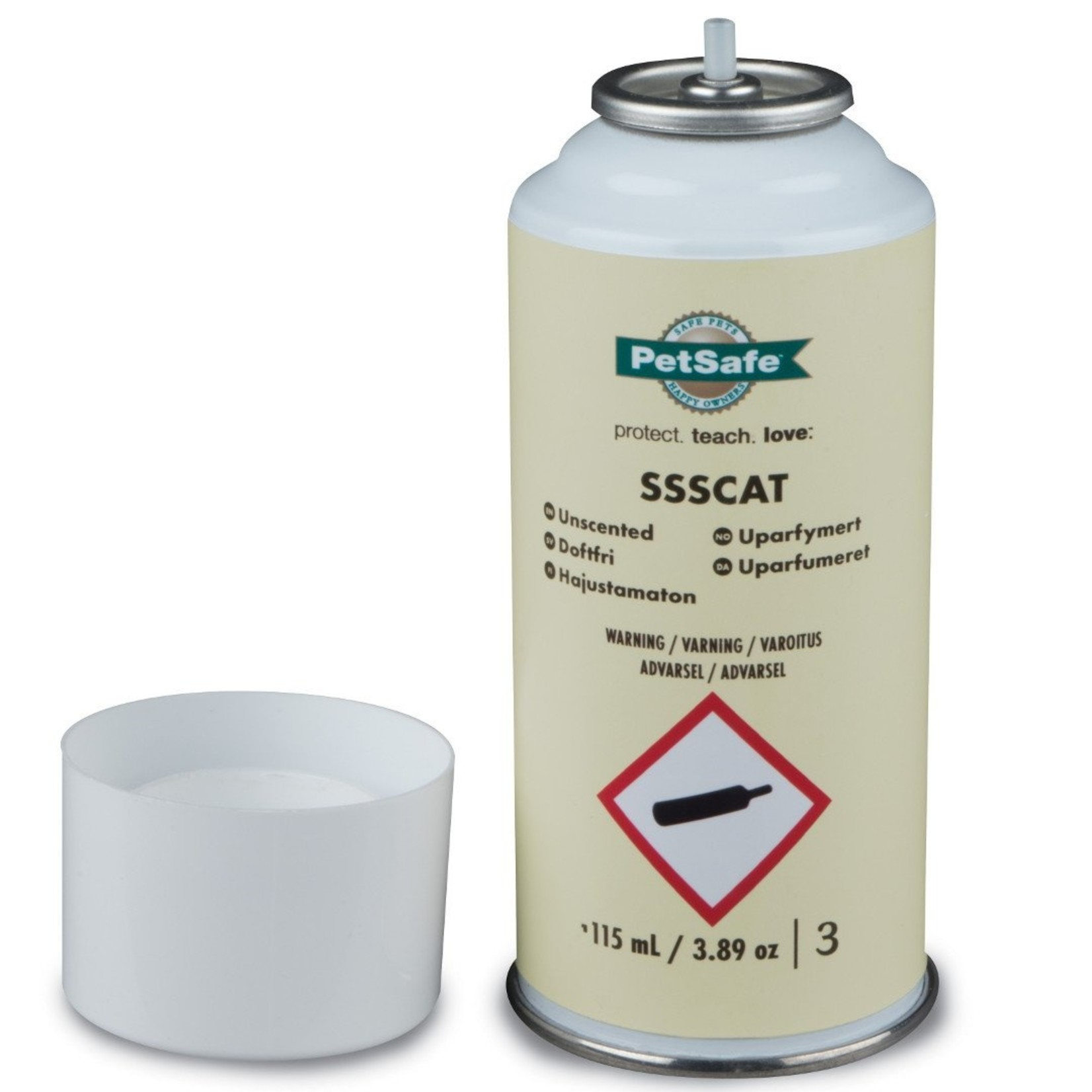 PetSafe SSSCAT kattenverjager navulling 80-100 sprays