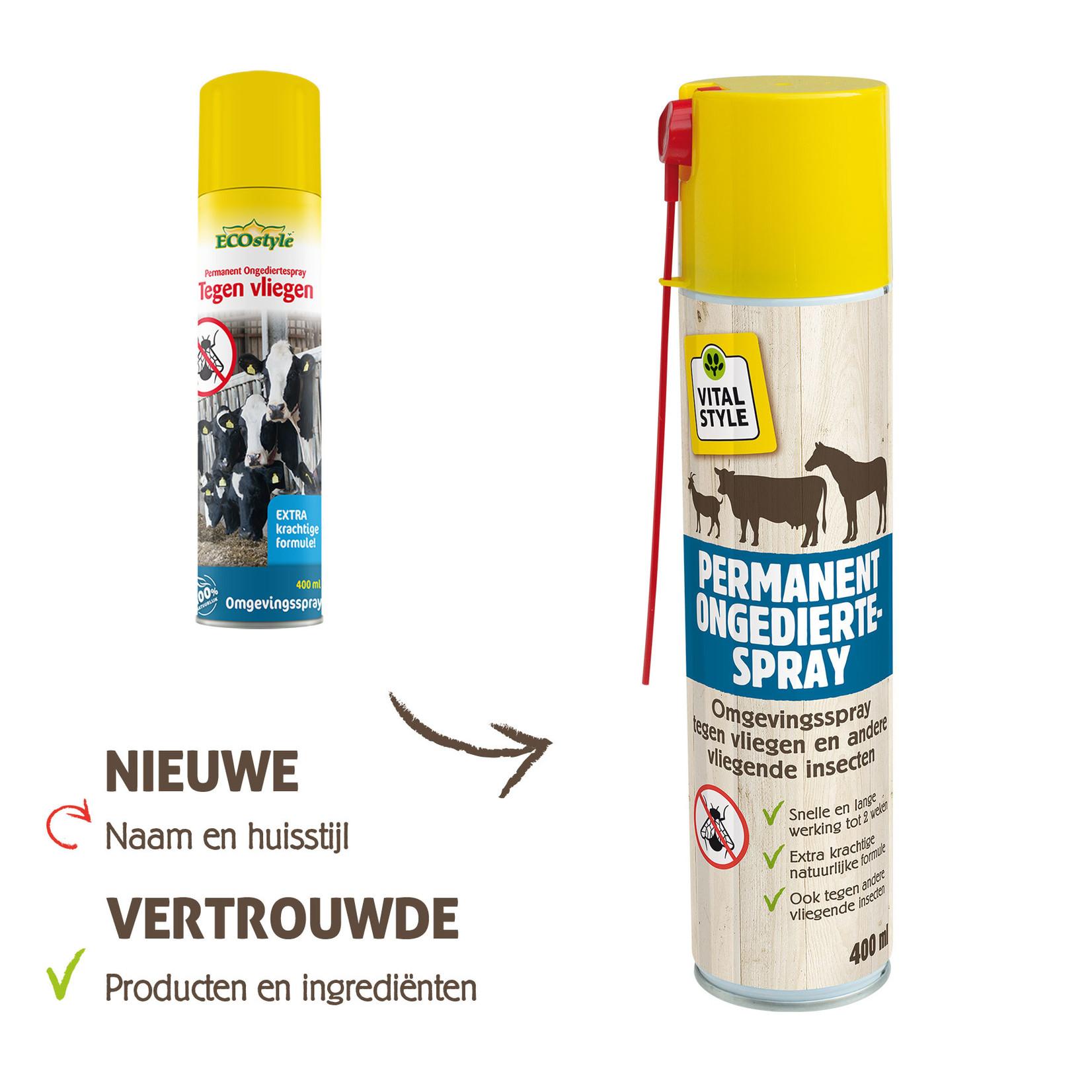VITALstyle Permanent Ongediertespray 400 ml