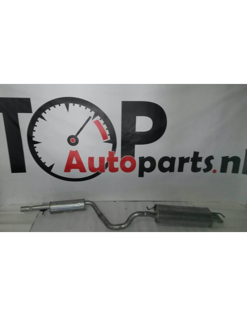 OE Uitlaatset, Einddemper + Middendemper Audi A3 1.8 Turbo