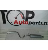 OE Uitlaatset, Einddemper + Middendemper Audi A3 1.6