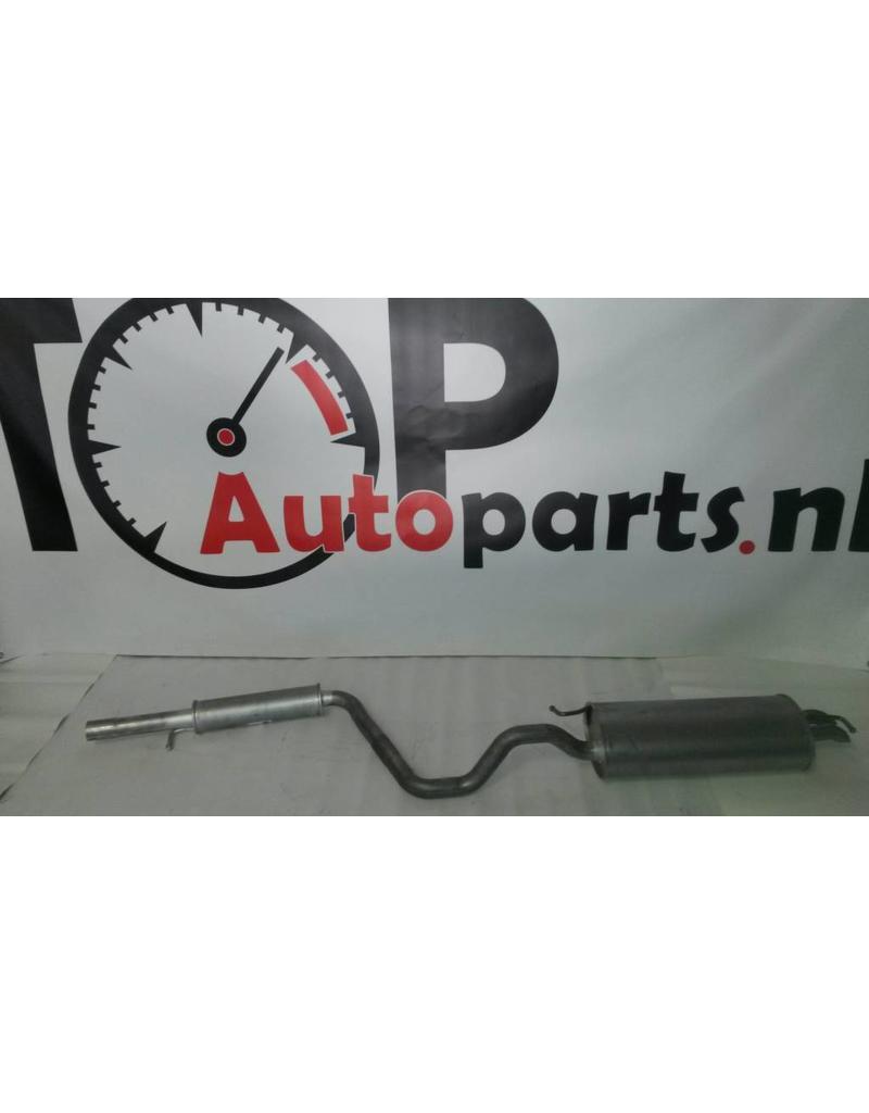 OE Uitlaatset, Einddemper + Middendemper Audi A3 / Seat Leon / Volkswagen Golf 4