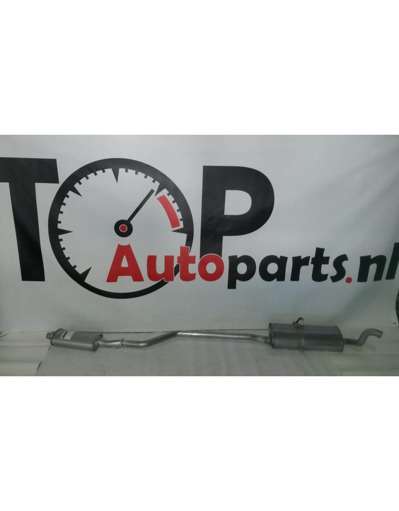 OE Uitlaatset Middendemper + Einddemper Citroen Berlingo / Peugeot Partner