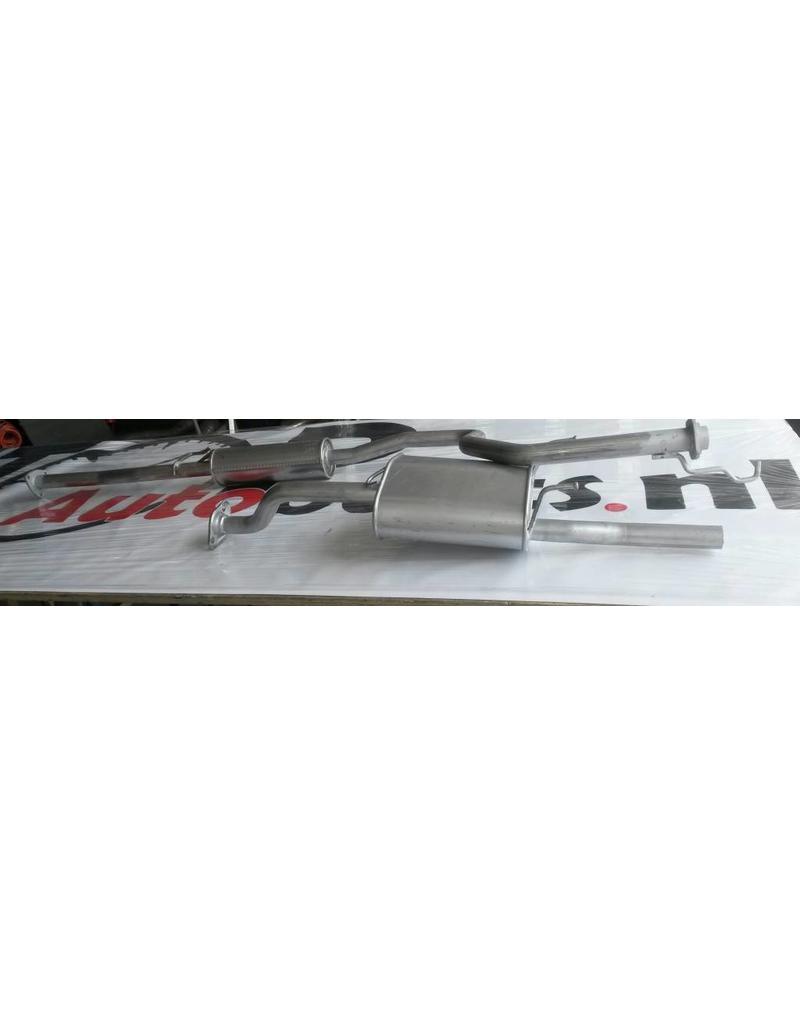 OE Uitlaatset Einddemper + Middendemper Honda Civic