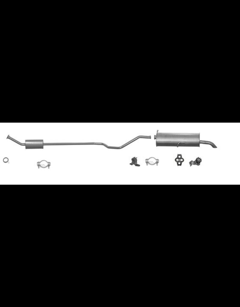 OE Uitlaatset, Einddemper + Middendemper Peugeot 307 1.6