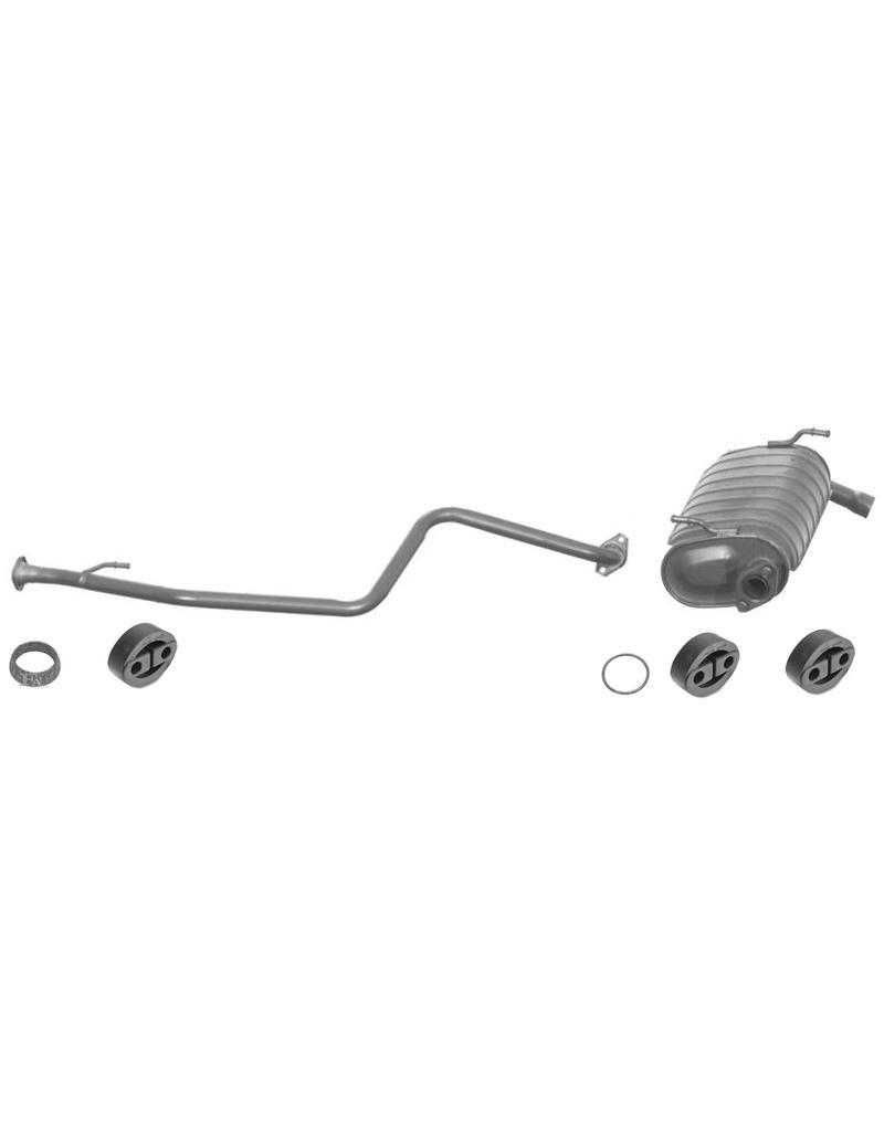 OE Uitlaatset, Einddemper + Middendemper Suzuki Jimny 1.3i