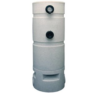 Aquaforte shower filter met zeefbocht & crystal bio media