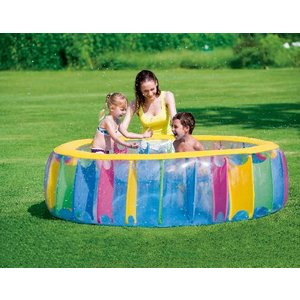 Bestway Kinderbad Rond Multi-Colored