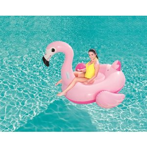 Bestway Rider Faigel flamingo ride-on jumbo
