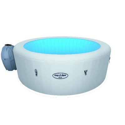 Lay-Z-Spa Opblaasbare Spa Paris LED-verlichting
