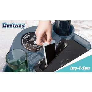 Lay-Z-Spa entertainment station
