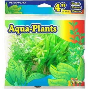 PENN PLAX Aqua Plants Green Set 10,2cm