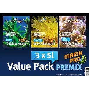 HS Aqua Marin Pro Premix Value Pack 3 x 5 liter