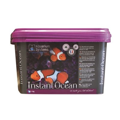 Aquarium systems Instant Ocean Zout 120 liter / 4 kilogram