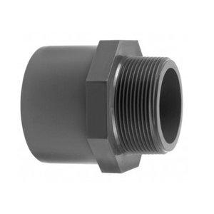 VDL Puntstuk lijm x buitendraad 40 t/m 110mm