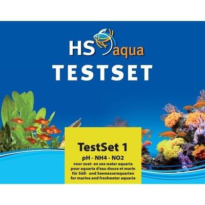 HS Aqua Testset 1 pH/NH4/NO2