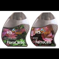 HS Aqua Plantcare Carbo Pakket - Flora Carbo/Ferrocell 150 ml