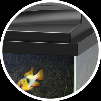 Ciano Aquarium aqua 80 LED CF150 zwart