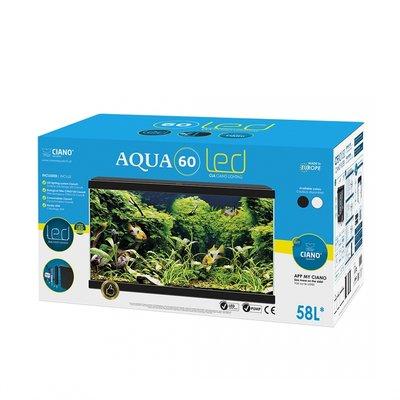 Ciano Aquarium aqua 60 LED CF80 zwart