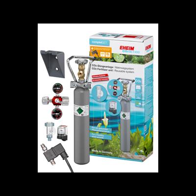 Eheim Co2 Set 400 inclusief fles en magneetventiel nachtuitschakeling