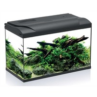 HS Aqua Aquarium Platy 70 LED Zwart