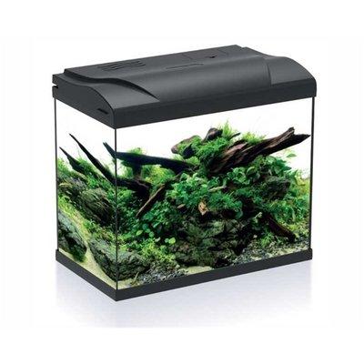 HS Aqua Aquarium Platy 30 LED Zwart
