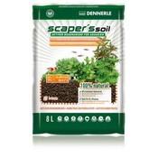 Dennerle Scapers Soil Zwarte Bodem 1-4mm 8L