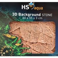HS Aqua 3D Achterwand Stone Brown