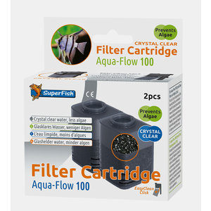 Superfish Aqua-Flow 100 Crystal Clear Filtercartridges