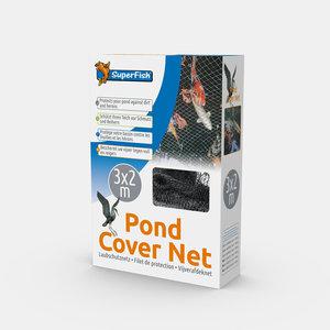 Superfish Vijverafdeknet 3x2 meter + 10 pinnen