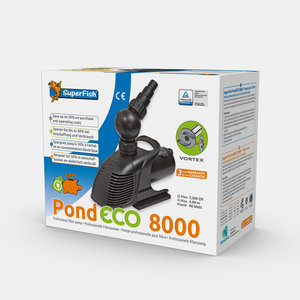 Superfish Pond Eco 8000 - 80W Vijverpomp