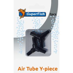 Superfish Luchtslang Y stuk blister 2 st.