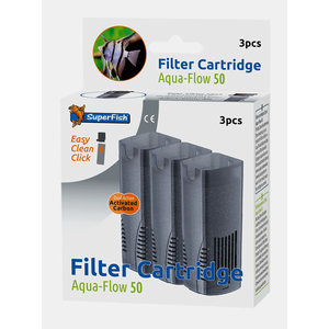 Superfish Aqua-Flow 50 Filter cartridges