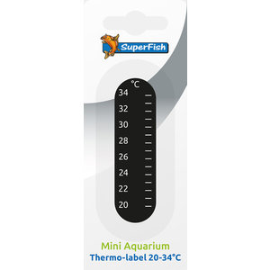 Superfish Plakthermometer 20-34 °C