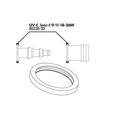 JBL AquaCristal  UV-C 9,11,18,36W O-Ring