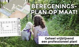 Professioneel beregeningsplan voor uw tuin!