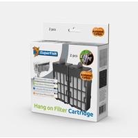 Superfish Hang on Filtercartridges (2 stuks)