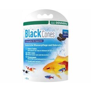 Dennerle Black Cones 40 Gr - Voor 1200 L