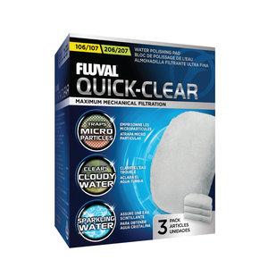 Fluval Filtervlies (x3) 106/07 & 206/07