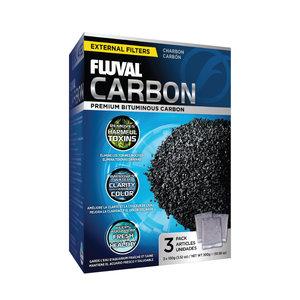Fluval Actieve kool 3 x 100 gram