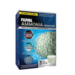Fluval Ammonia Remover 3 x 180 gram