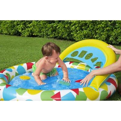 Bestway Babybad ovaal splash & learn 120