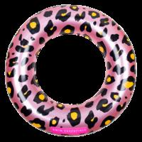 Swim Essentials Zwemband 90 cm Panterprint Rose goud