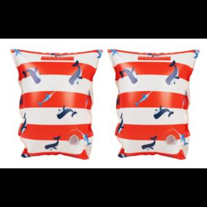 Swim Essentials Zwembandjes 2-6 jaar Walvis gestreept