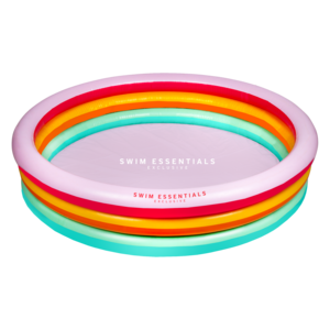 Swim Essentials Rond zwembad 150cm Regenboog