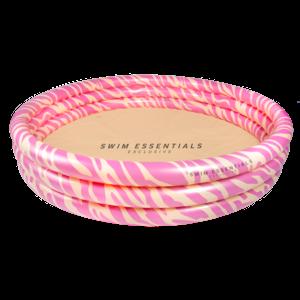 Swim Essentials Rond zwembad 150cm Roze Zebra