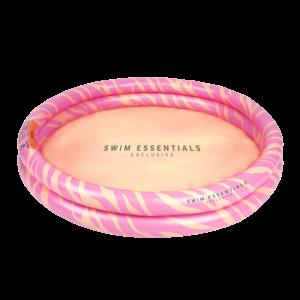 Swim Essentials Kinder zwembad 100cm Roze Zebra